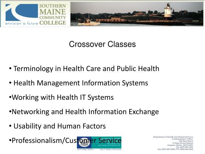 Crossover Classes