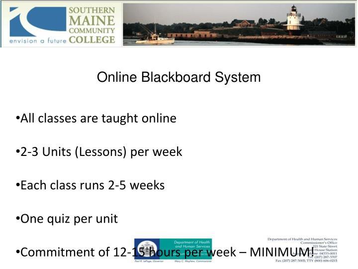 Online Blackboard System