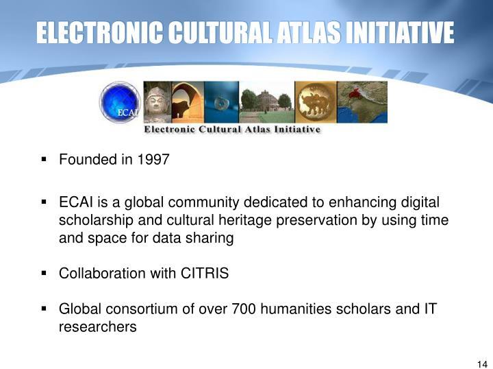 ELECTRONIC CULTURAL ATLAS INITIATIVE
