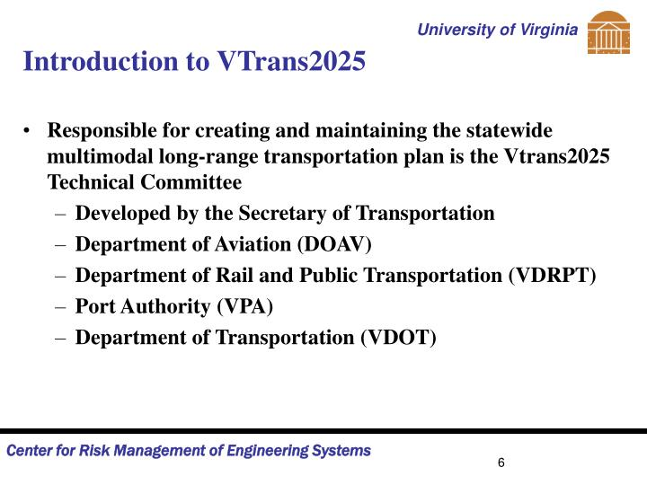 Introduction to VTrans2025
