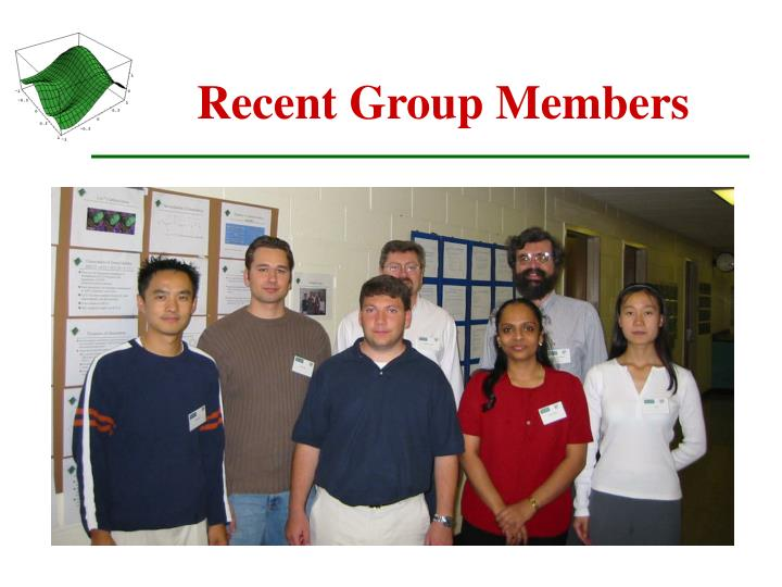 Recent Group Members