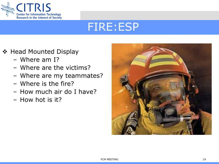 FIRE:ESP