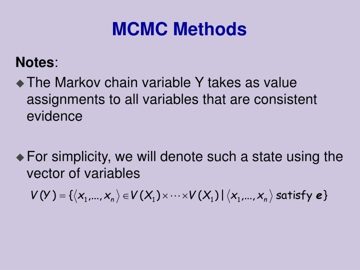 MCMC Methods