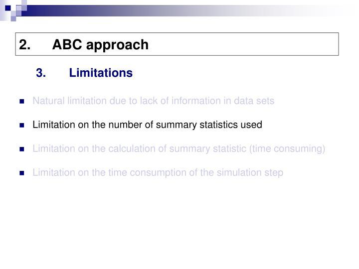 ABC approach