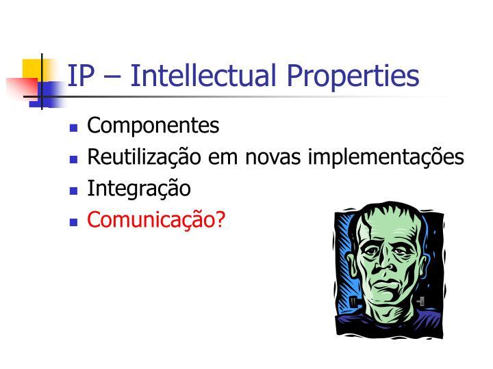IP – Intellectual Properties