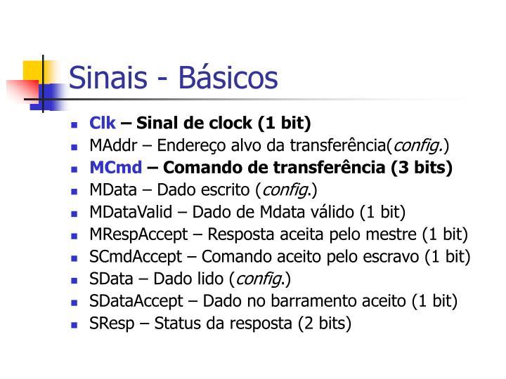 Sinais - Básicos