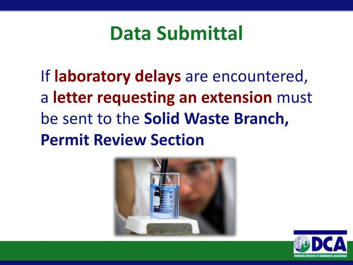 Data Submittal