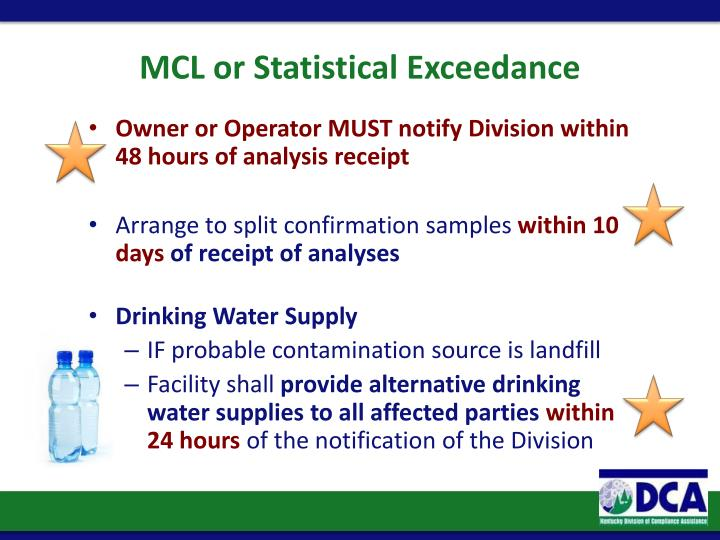 MCL or Statistical
