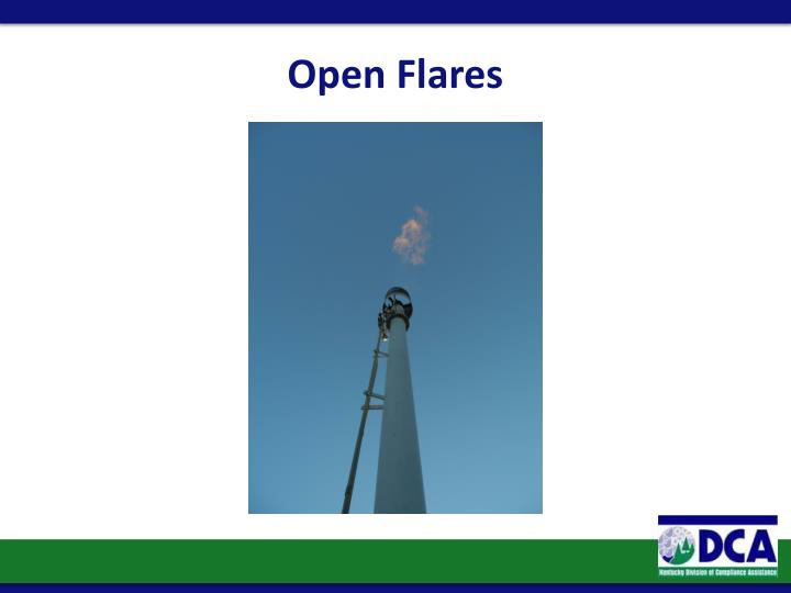 Open Flares