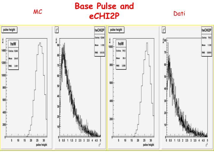 Base Pulse and eCHI2P
