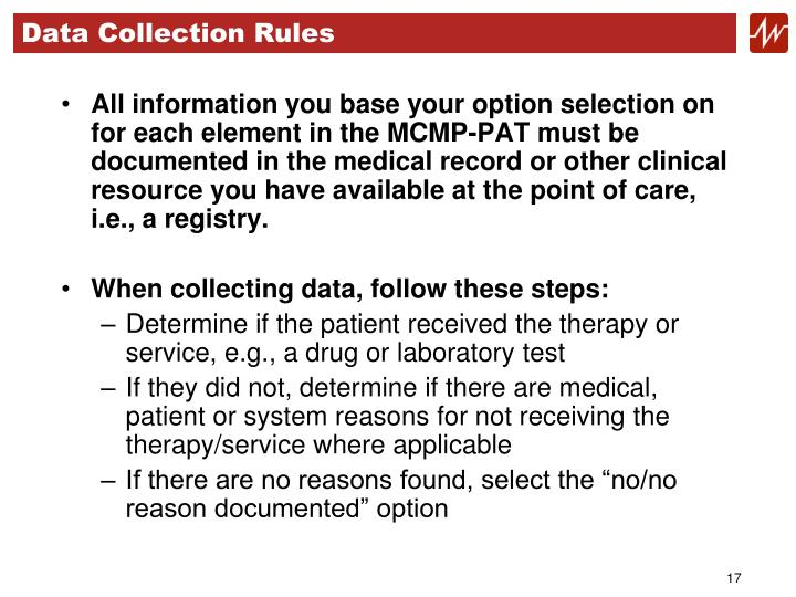 Data Collection Rules