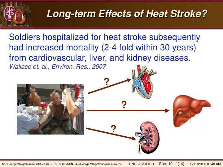 Long-term Effects of Heat Stroke?