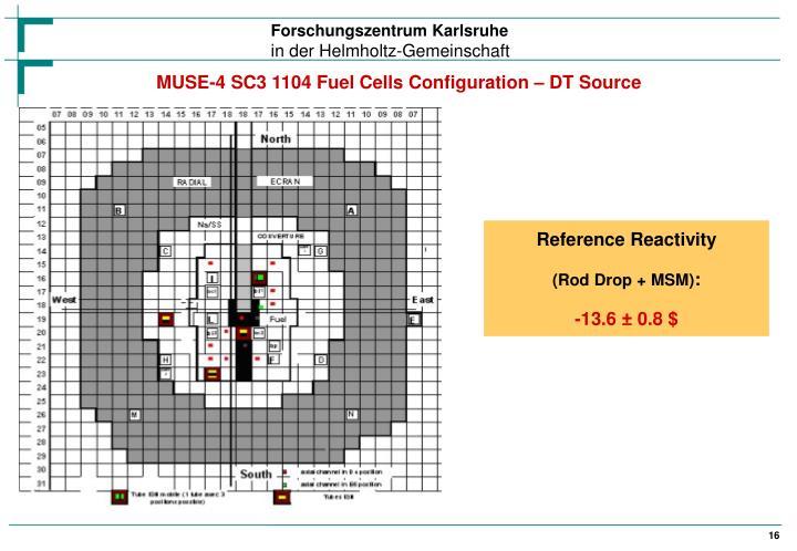 MUSE-4 SC3 1104 Fuel Cells Configuration – DT Source