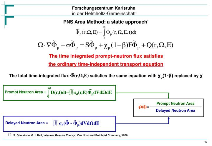 PNS Area Method: a static approach