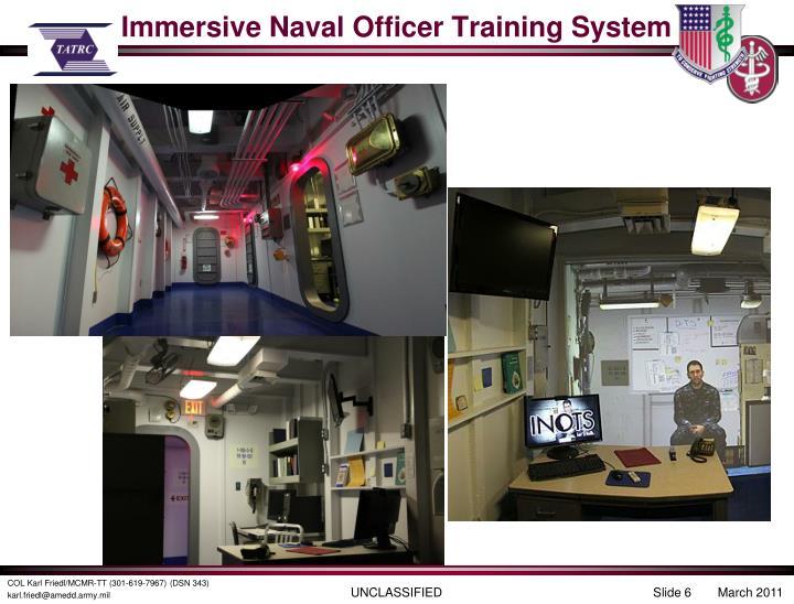Immersive Naval Officer Training System