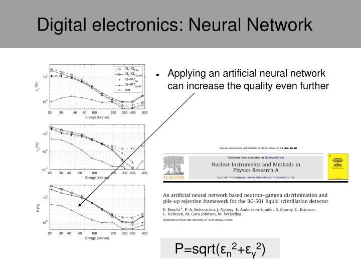 Digital electronics: Neural Network
