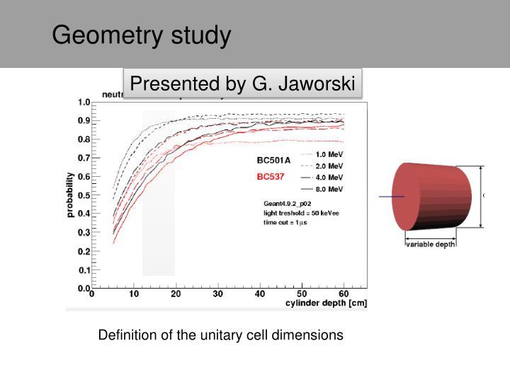 Geometry study
