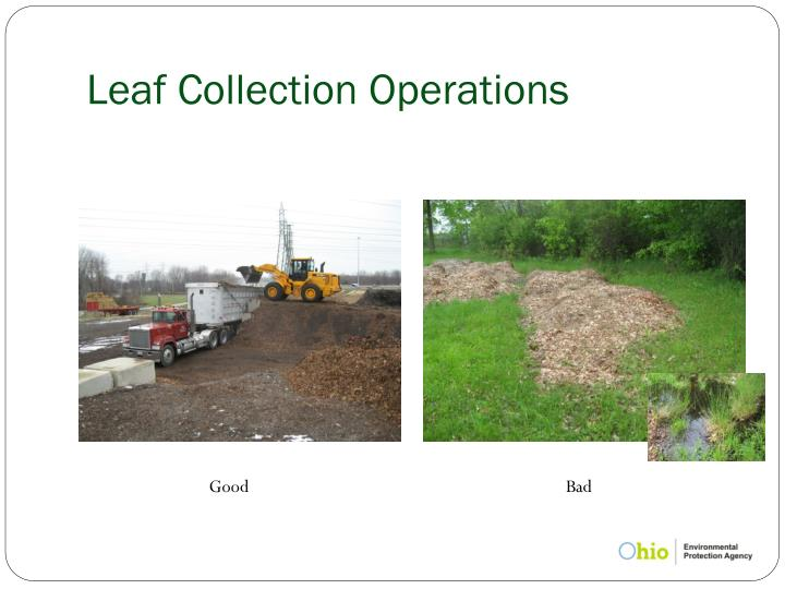 Leaf Collection Operations