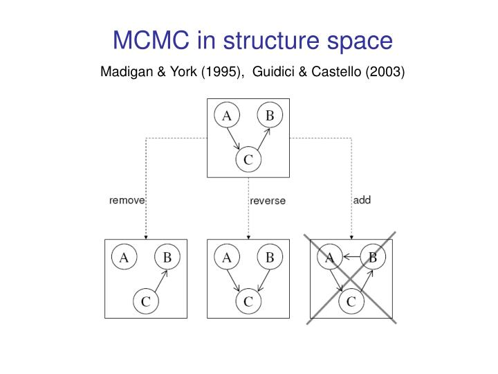 MCMC in structure space