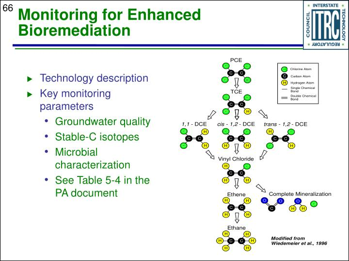 Monitoring for Enhanced Bioremediation