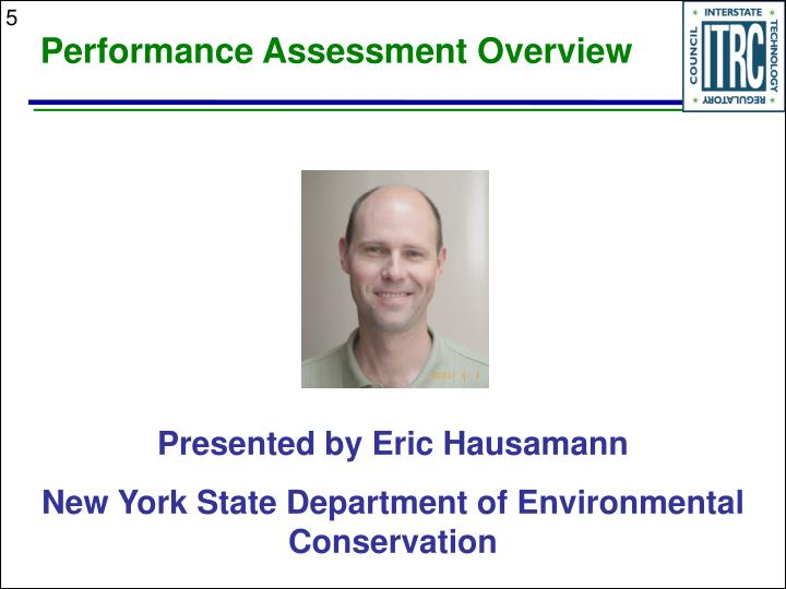 Performance Assessment Overview