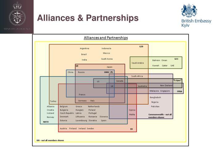 Alliances & Partnerships