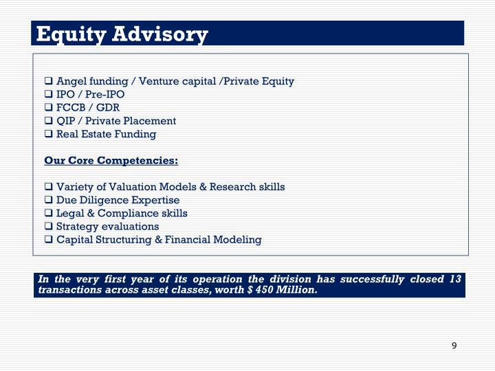Equity Advisory