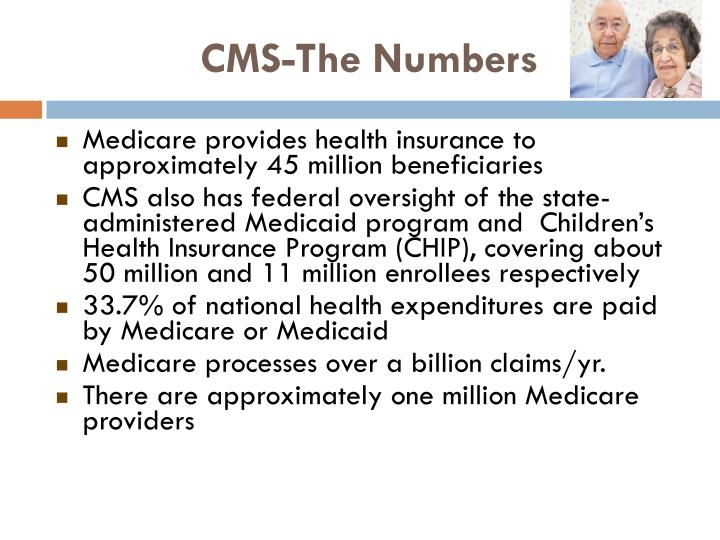 CMS-The Numbers