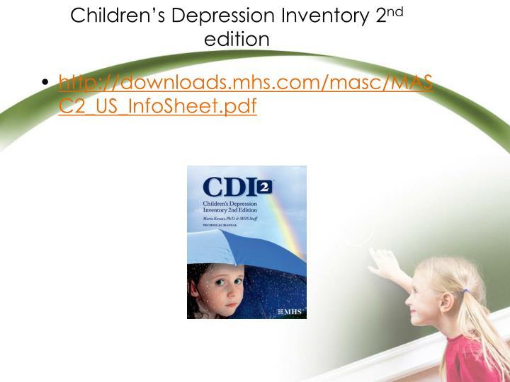 Children's Depression Inventory 2