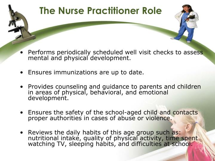 The Nurse Practitioner Role