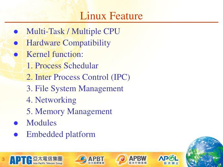 Linux Feature