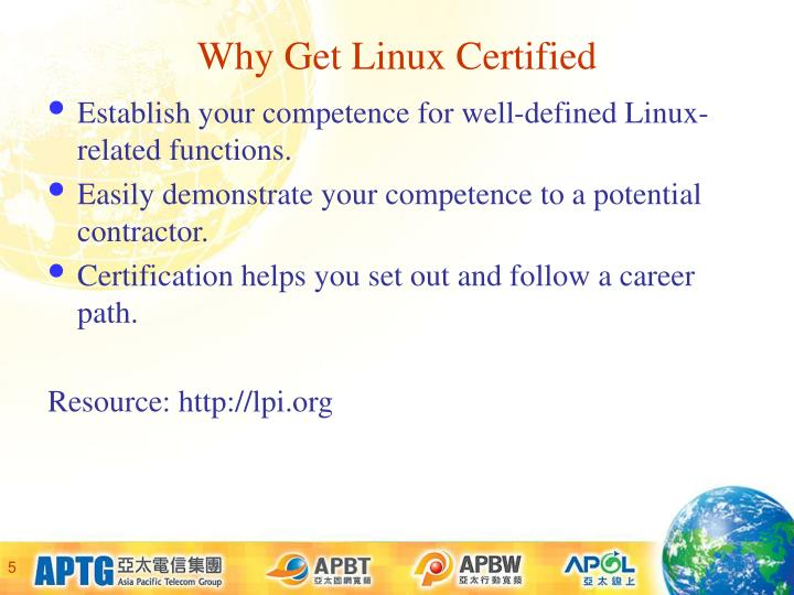 Why Get Linux Certified
