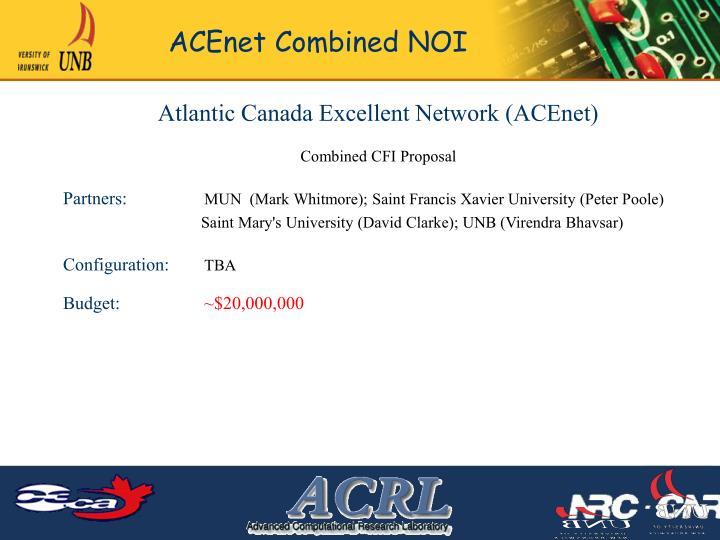 Atlantic Canada Excellent Network (ACEnet)