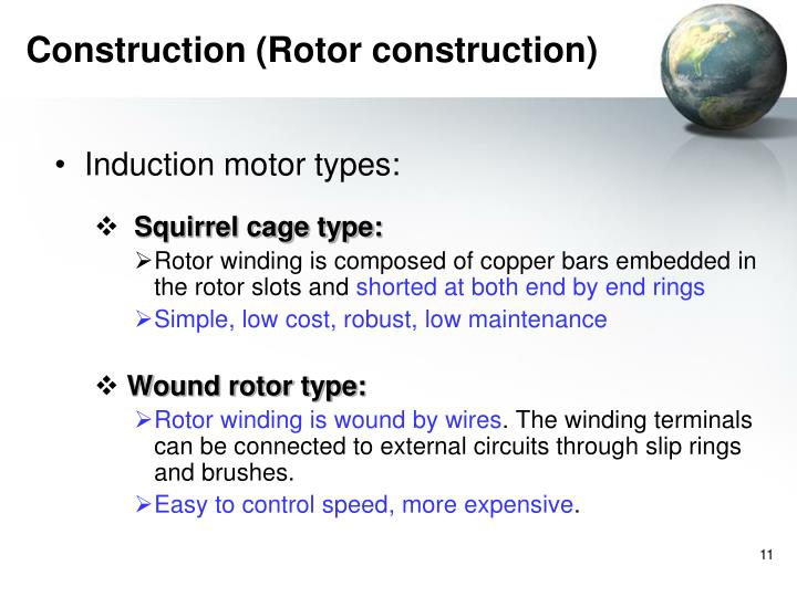 Construction (Rotor construction)