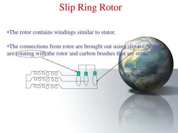 Slip Ring Rotor