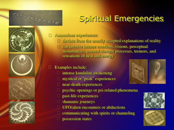 Spiritual Emergencies