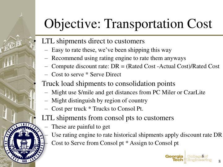 LTL shipments direct to customers