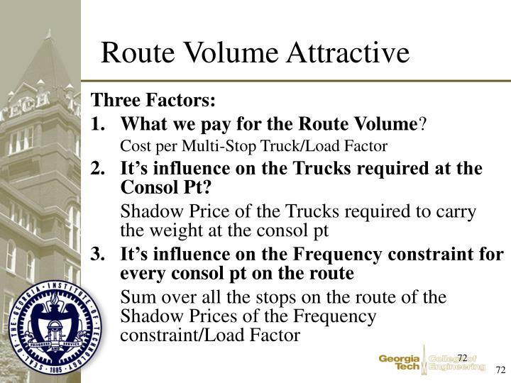 Three Factors: