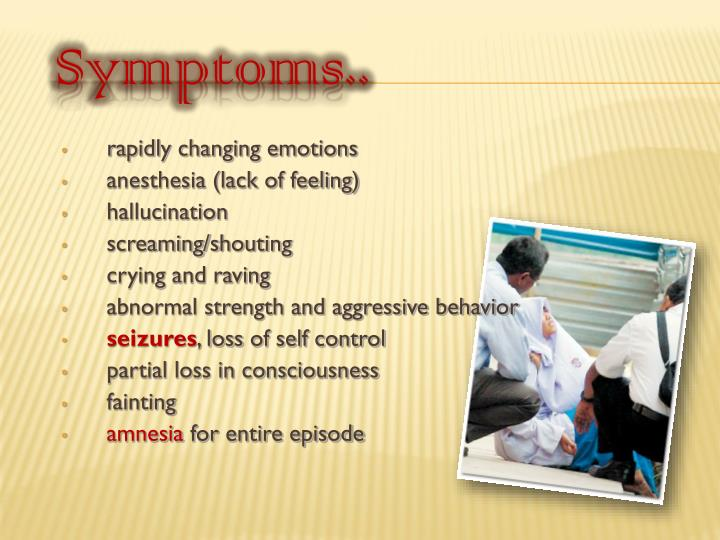 Symptoms..