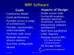 wrf software
