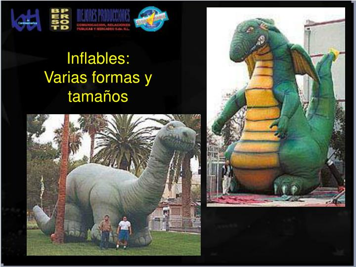 Inflables: