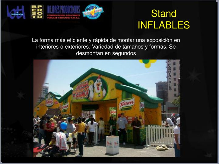Stand INFLABLES