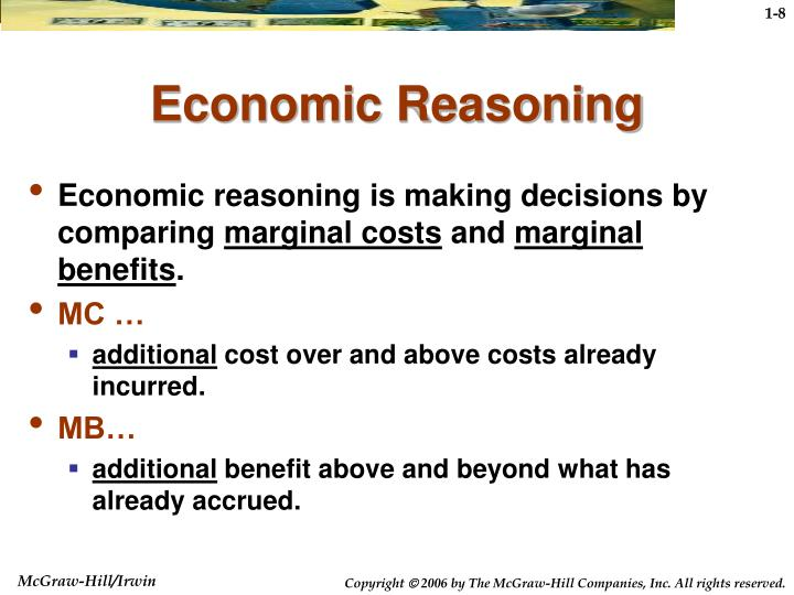 Economic Reasoning