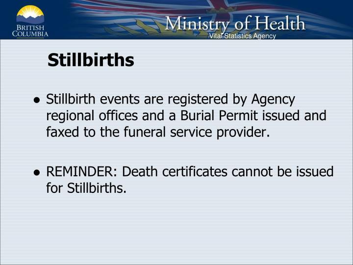 Stillbirths