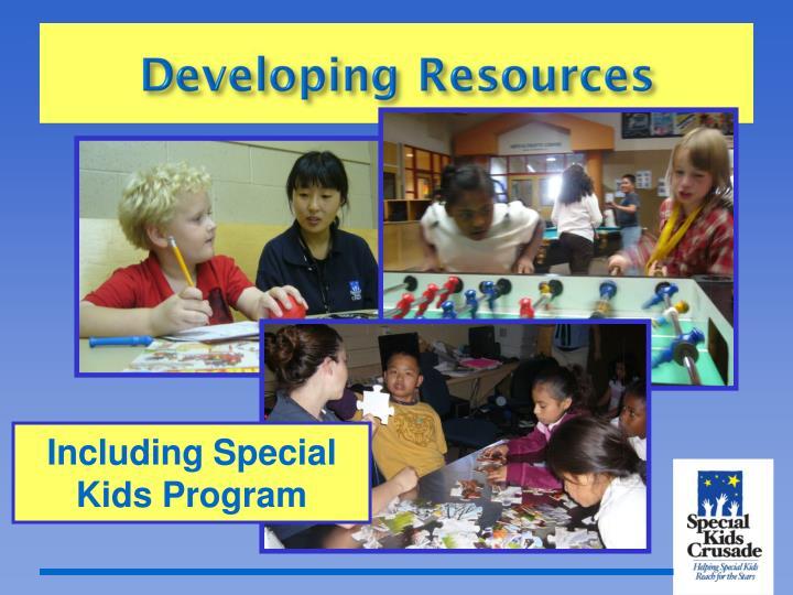 Including Special Kids Program