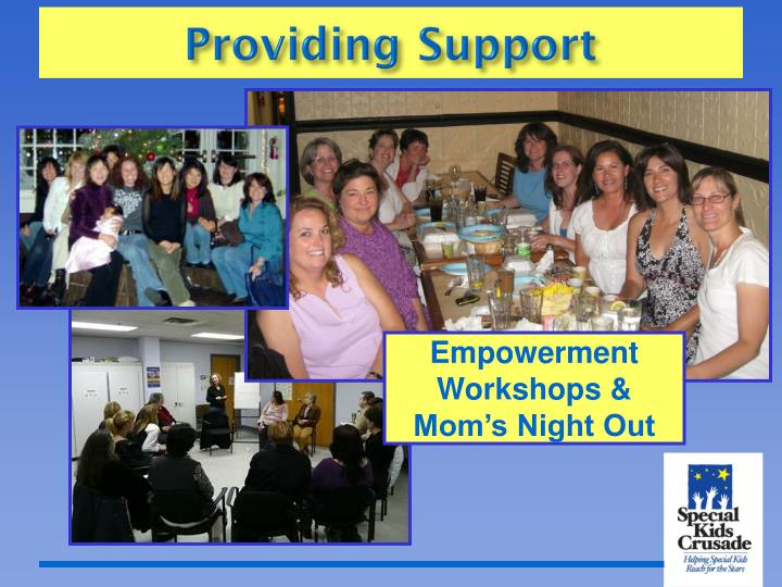 Empowerment Workshops & Mom's Night Out