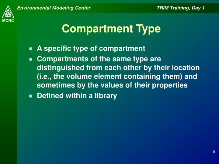 Compartment Type