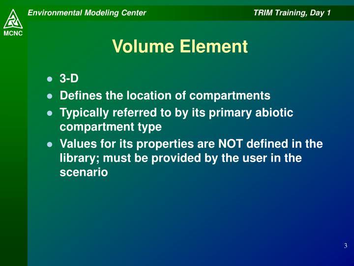 Volume Element