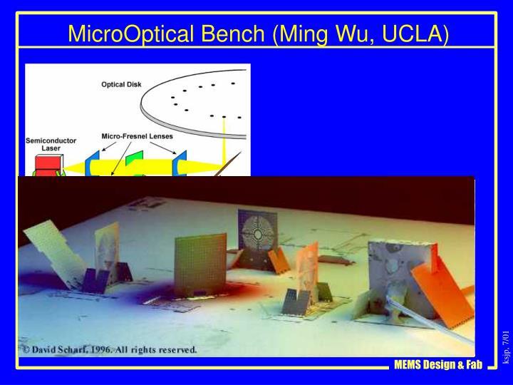 MicroOptical Bench (Ming Wu, UCLA)