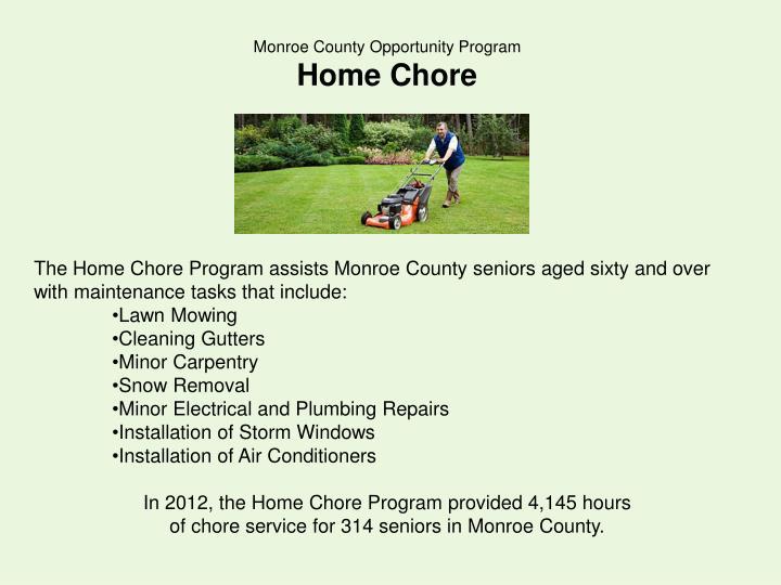 Monroe County Opportunity Program